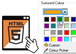 HTML5 Background Colour